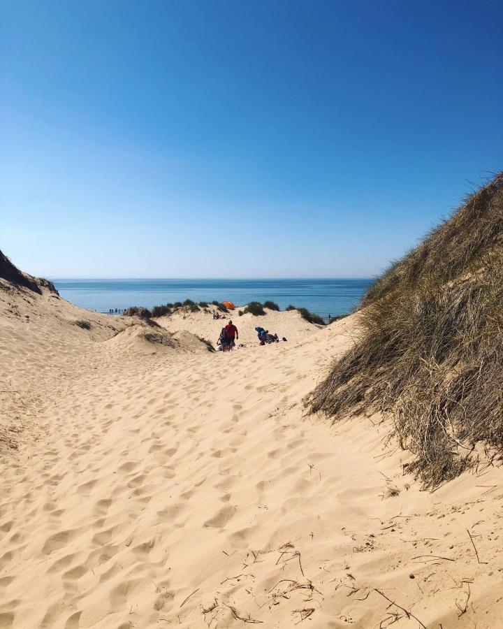 Bank Holiday | Neděle na  Formby beach | Tohle místo že je vAnglii?